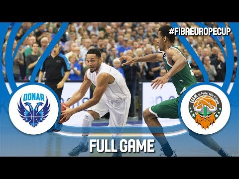 Donar Groningen (NED) v ESSM Le Portel (FRA) - Full Game - FIBA Europe Cup 2017-18