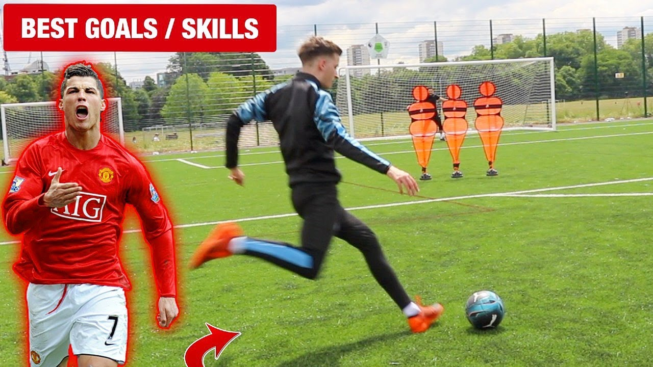 Recreating the BEST EVER Premier League GOALS & SKILLS! (Ronaldo, Henry, Taarabt)