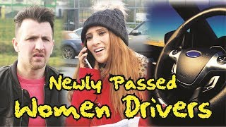 Newly Passed Women Driver | OZZY RAJA