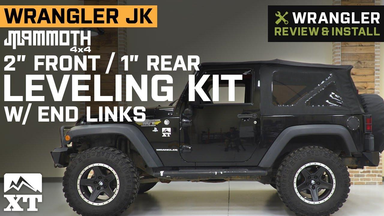 "1155200 1/"" BACK Leveling kit TERAFLEX JEEP JK Wrangler 2/"" FRONT"
