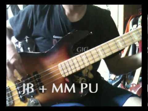 Shredder Jazz Odyssey - 3 PickUps Bass (Jazz Bass and MusicMan ...