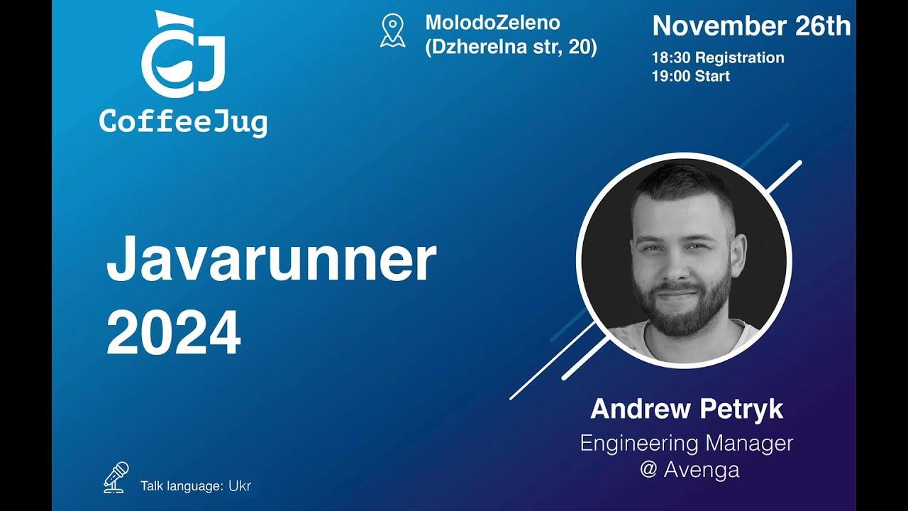 Javarunner 2024 by Andrew Petryk   CoffeeJUG