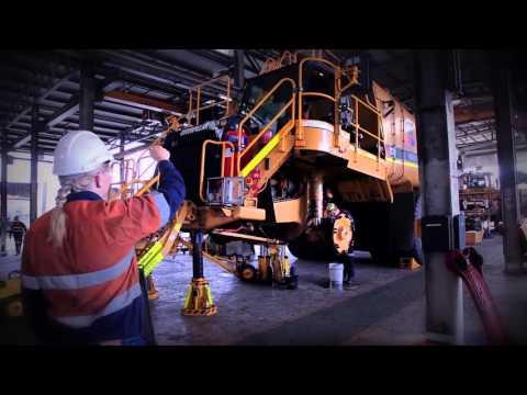 Carolyn Dobson - Apprentice Diesel Fitter BMA