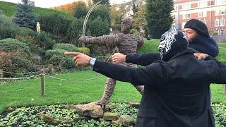 Shinsuke Nakamura, Sin Cara explore Nottingham, England