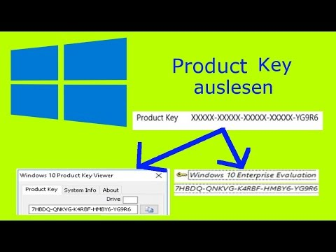 Windows Product Key Auslesen | Tutorial
