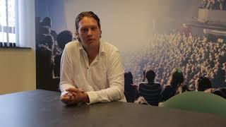 Business School Notenboom student Bram loopt stage bij Start Up Nijmegen