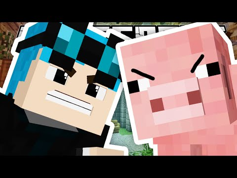 Minecraft | MAN VS PIG!!