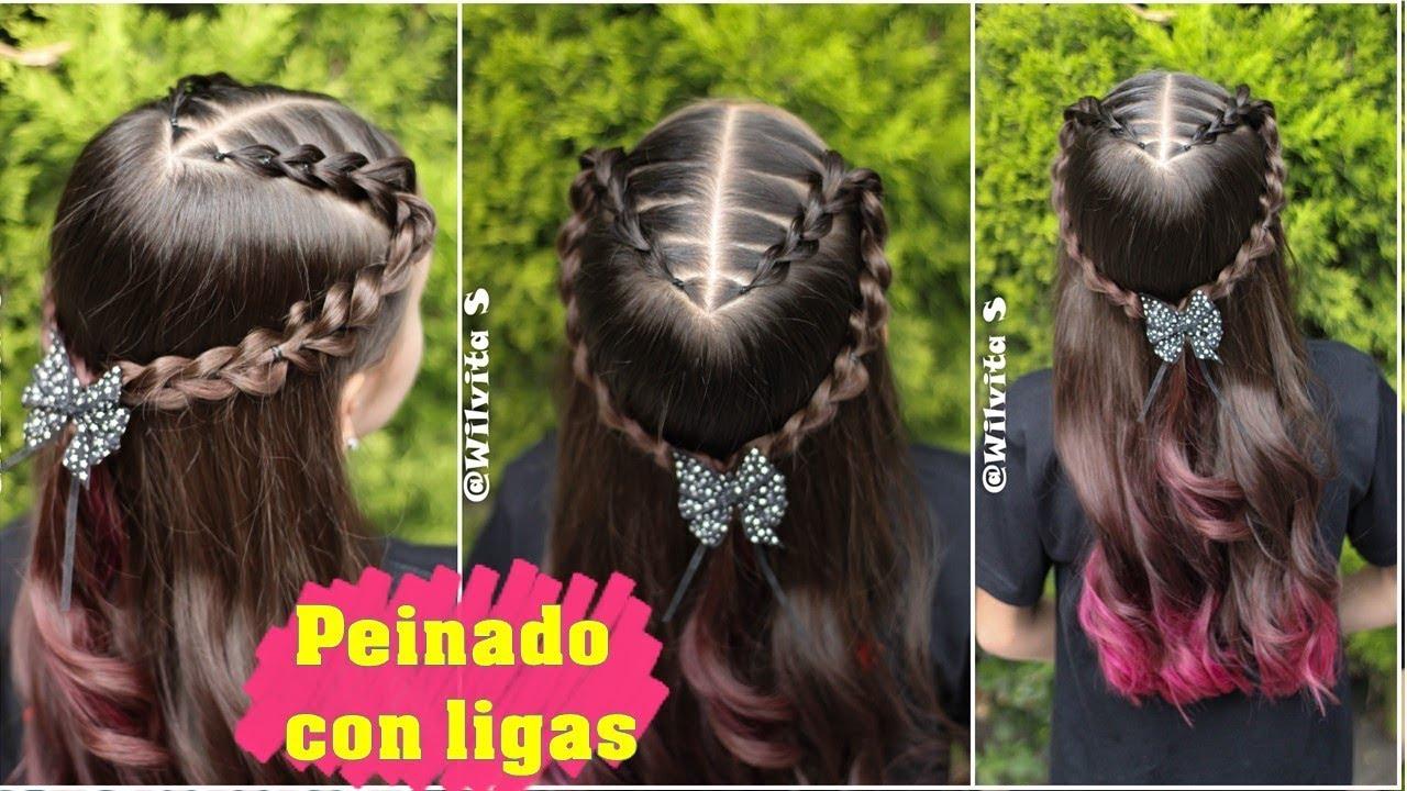 Peinado Fácil Elegante Y Rápido Para Niñas Peinados Fáciles Y Rápidos Wilvita