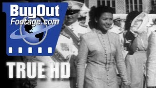 HD Historic Stock Footage ROYAL CORONATION IN SIAM 1950