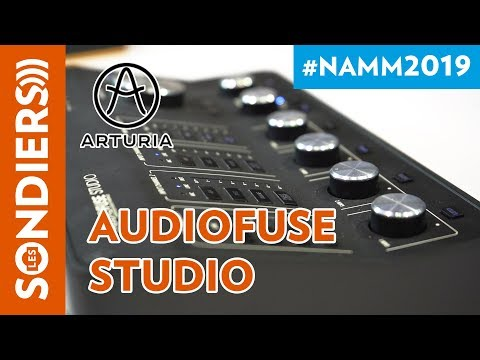 [NAMM 2019] AUDIOFUSE STUDIO