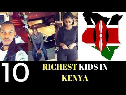 The Kenyan Sauce  Top 10 Unknown & Exposed RICH KIDS IN KENYA 2018