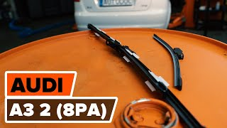 Kuinka vaihtaa pyyhkijänsulat AUDI A3 2 (8PA) -merkkiseen autoon [AUTODOC -OHJEVIDEO]
