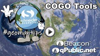 #geomantips: COGO Tools