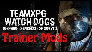Xbox 360 Watch Dogs - Xpgsensi420 +25 Trainer Mods Jtag/rgh