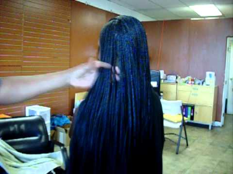 Gorgeous Extra Small Braids With Extra Length Youtube