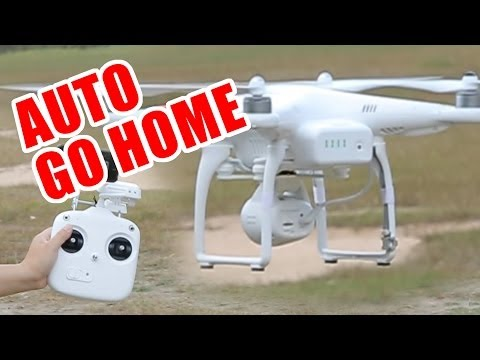 DJI Phantom 2 Vision Auto Go Home Feature