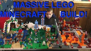 The Nether Portal Set 21143 Build and Play! We add it to our Lego Minecraft City
