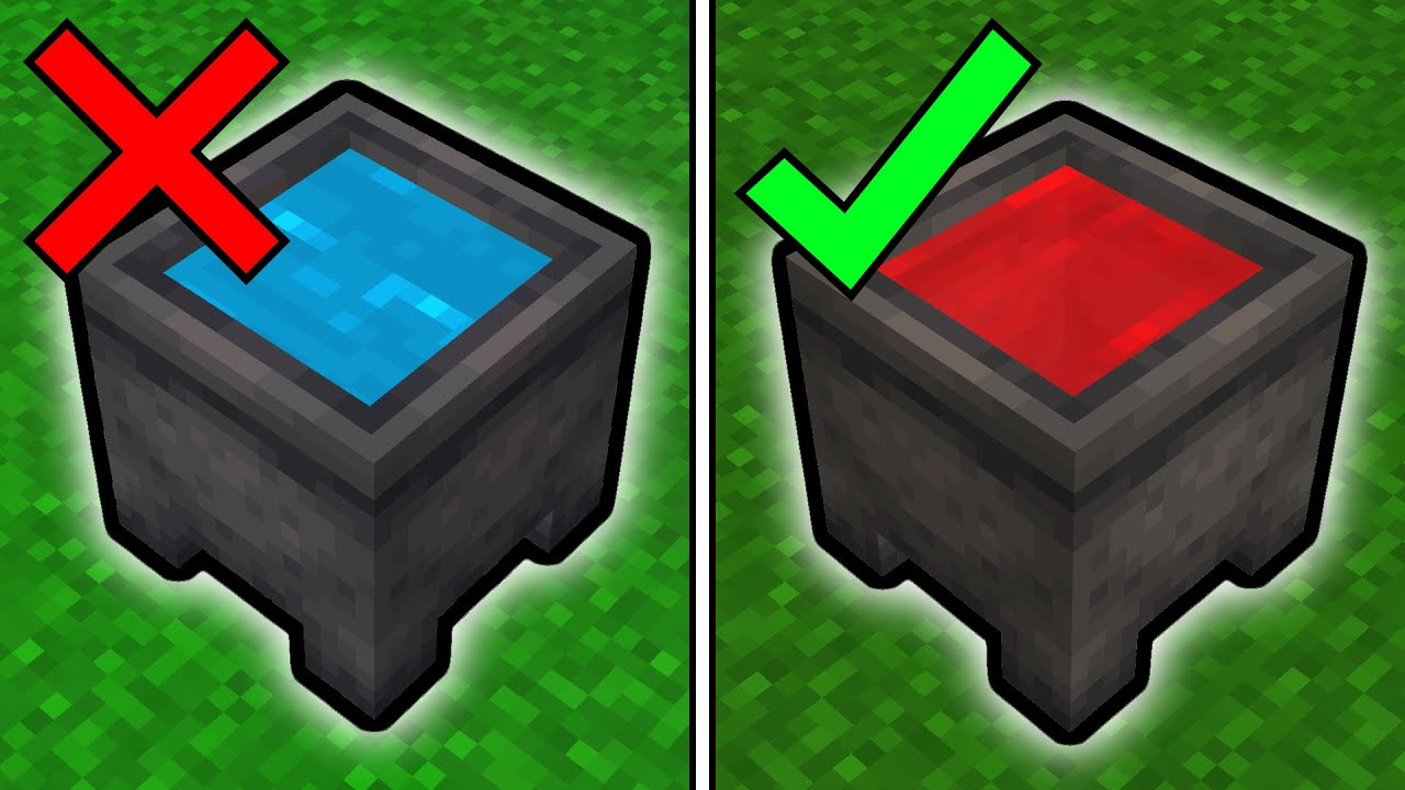 32 Minecraft Blocks You're Using Wrong