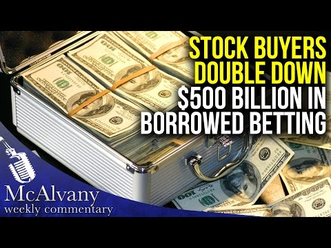 "Voracious Stock Buyers ""Double Down"" with $500+ Billion in B"