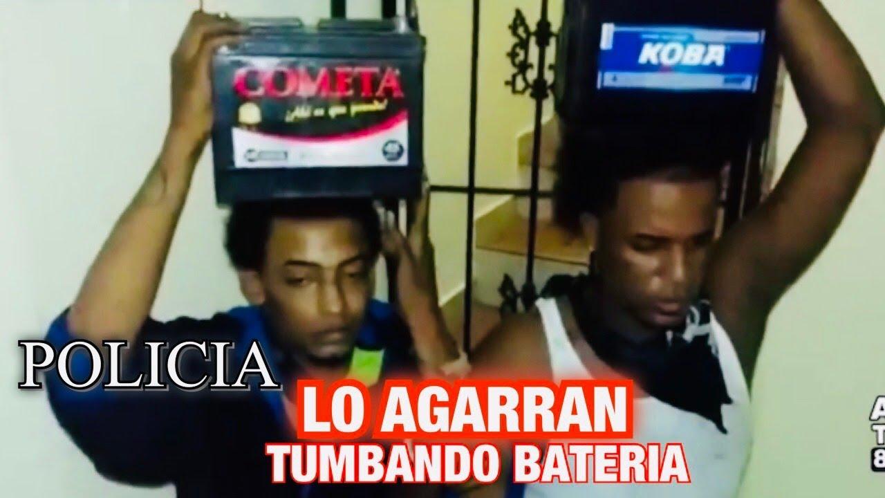POLICIA AGARRAN LADRONES DE BATERIA Y MIRA LO QUE DICEN (ENTERATE)