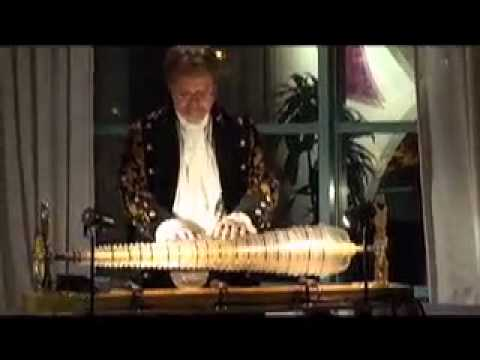 William Zeitler Playing the Glass Armonica