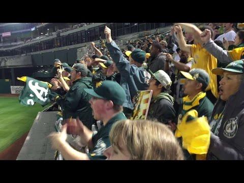 #THIS: Athletics fans believe in Stephen Vogt