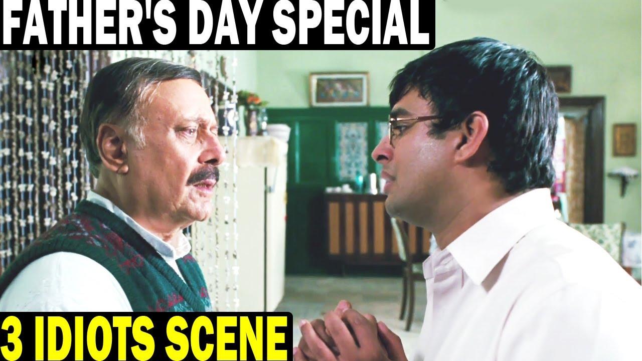 Father's Day Special | में इंजीनियर नहीं बनना चाहता पापा  | 3 Idiots Best Scene | R. Madhavan