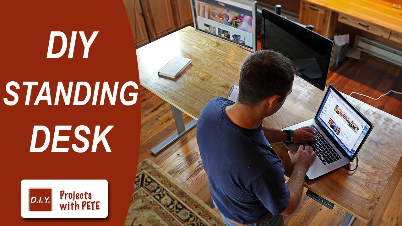 Diy standing desk plans - Diy Standing Desk Plans 58