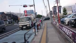 静岡県護国神社から東静岡駅まで(3)20170731