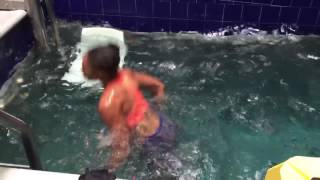 Allyson Felix FORSTER PHYSICAL THERAPY Pool