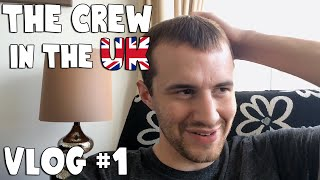 The Crew in the UK Vlog #1: LEGIQN Crying and Airport Chicken