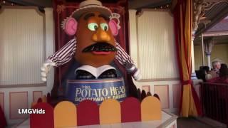 "Mr  Potato Head Funny Fail ""Oh Yeah"" - Disney Animatronic Fail"