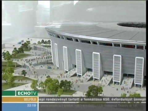 Építik az új Puskás Ferenc Stadiont