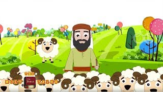 The Lost Sheep I New Testament Stories I Animated Children's Bible Stories| Holy Tales Bible Stories
