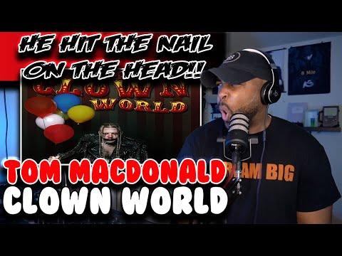 DO I NEED TO EXPLAIN?? | Tom Macdonald ( Clown World ) | Reaction