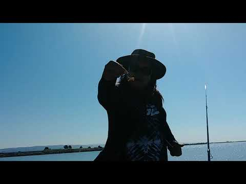 Striper Fishing At (Marina Bay Walk) In San Leandro,Ca 10/02/19