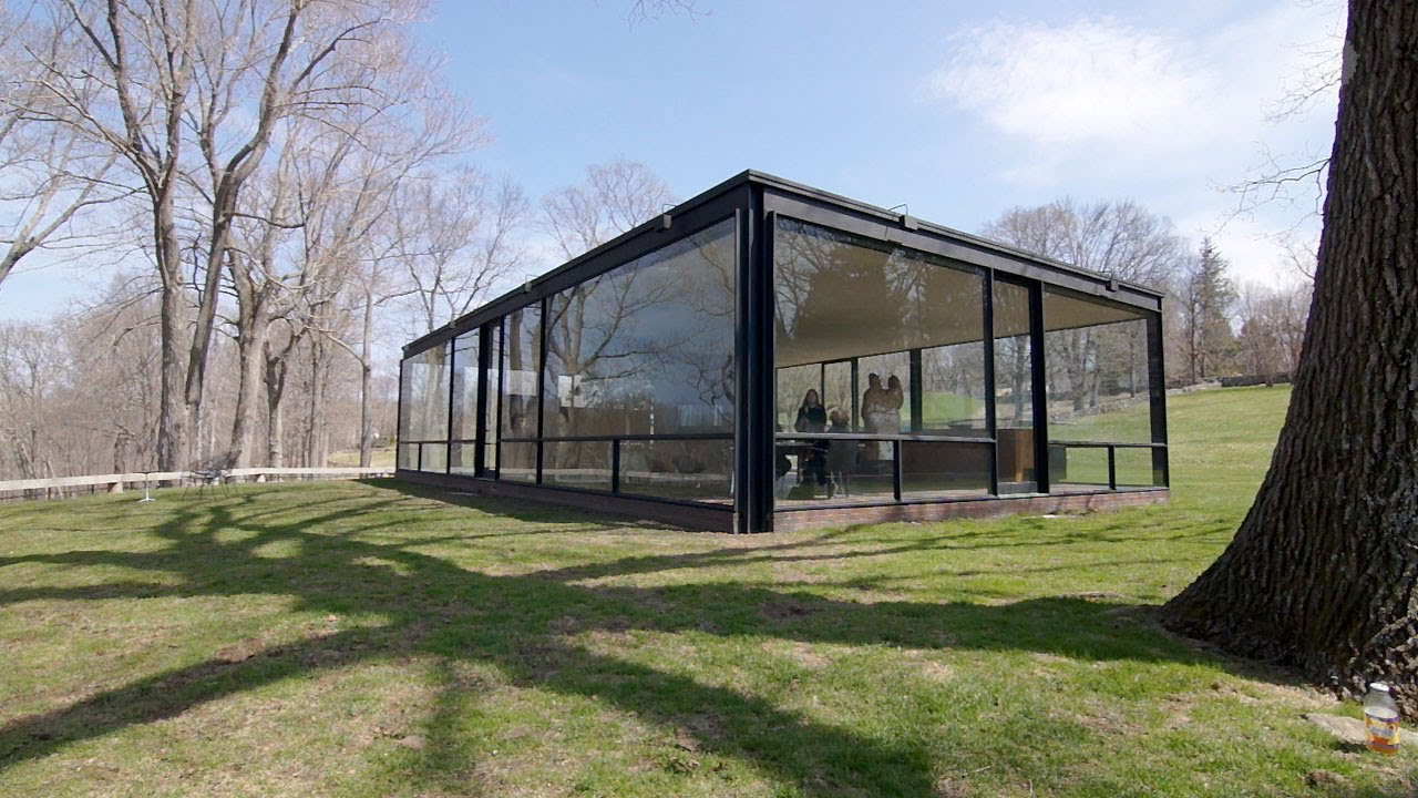 Philip Johnson Glass House the philip johnson glass house with director and chief