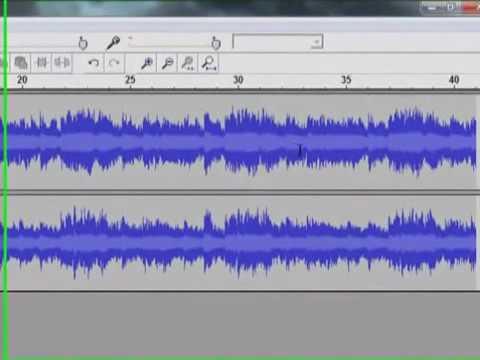 Comment couper un MP3 avec Audacity