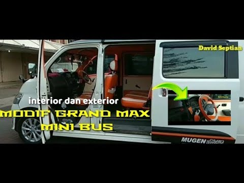 Modifikasi mobil grand max mini bus - YouTube