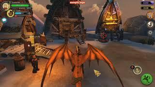 Let's play (прохождение) по игре School of dragons (sod)/9 серия