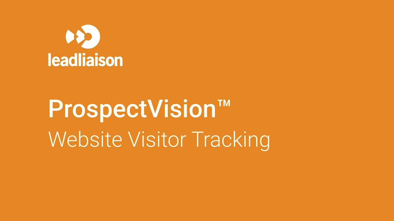 Prospect Vision TM Website Visitor Tracking