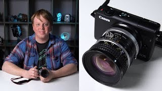 Setting Up your Canon EOS M100 to Shoot with Adapted Lenses