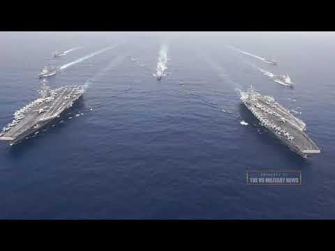 Jan 10: US aircraft carriers intercept Beijing in south China Sea amid PLA Long Range Missile Threat