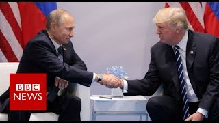 Trump approves new 'flawed' Russia sanctions   BBC News