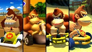 Evolution of Donkey Kong in Mario Kart (1992-2019)