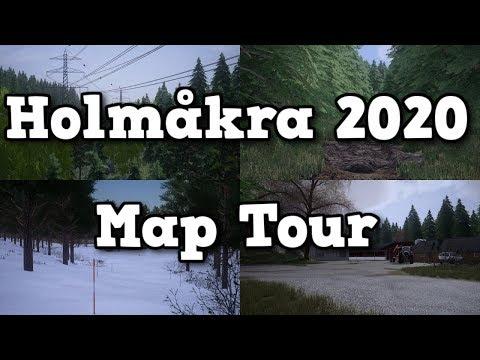 HOLMAKRA 2020 MAP TOUR | Farming Simulator 19