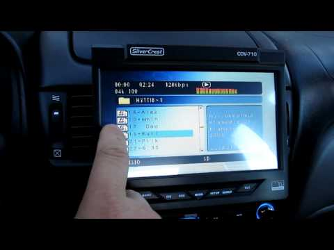 "silvercrest cdv-710 7"" touchscreen"