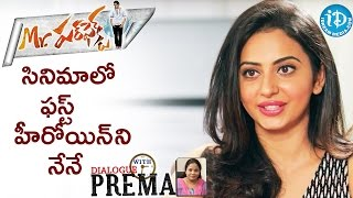 Rakul preet singh about a chance in mr perfect movie || dialogue with prema