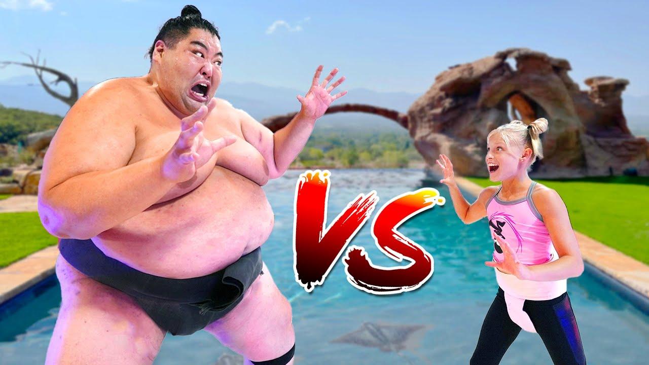 Download We challenged a 600 Pound Sumo! Ninjas vs Sumo!