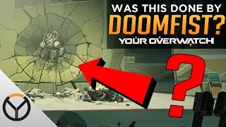 Overwatch: New Hero Teased! - Doomfist Attacks Numbani??